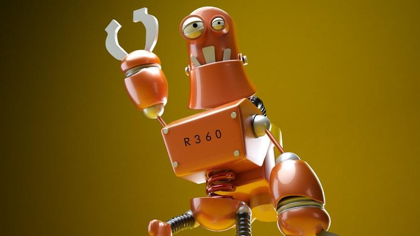 """Model 3D  robot """"R360"""" 0"""