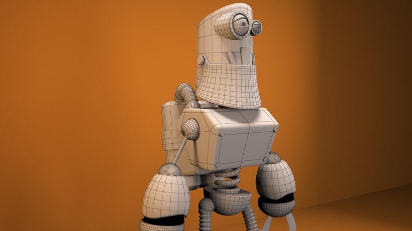 """Model 3D  robot """"R360"""" 2"""