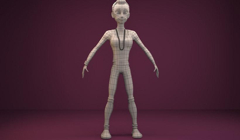 """Model 3D """"Anna"""" 1"""