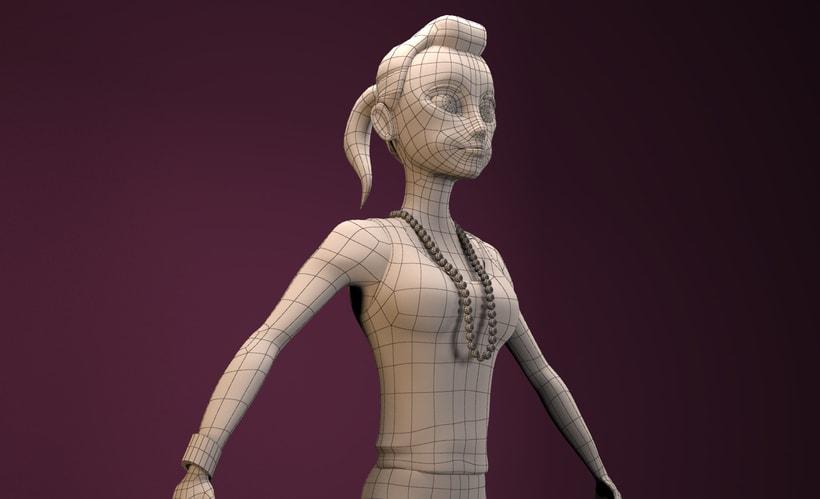 """Model 3D """"Anna"""" 2"""