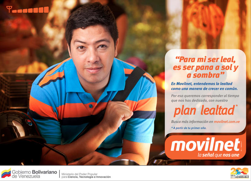 MOVILNET / LEALTAD [spot & prints] 1