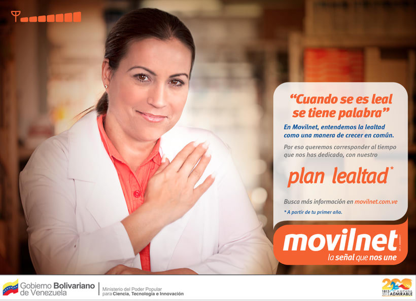 MOVILNET / LEALTAD [spot & prints] 3