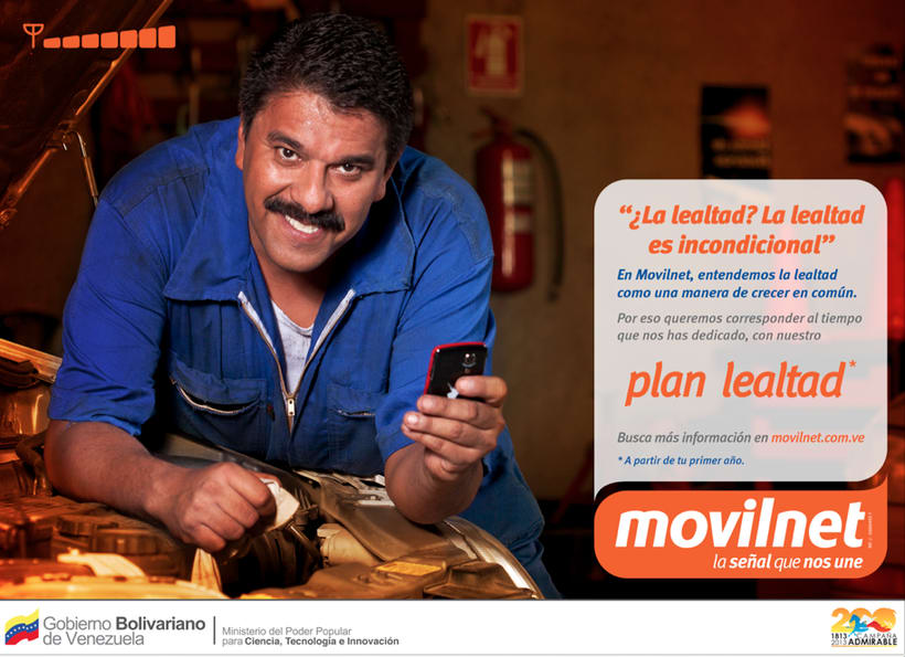 MOVILNET / LEALTAD [spot & prints] 2
