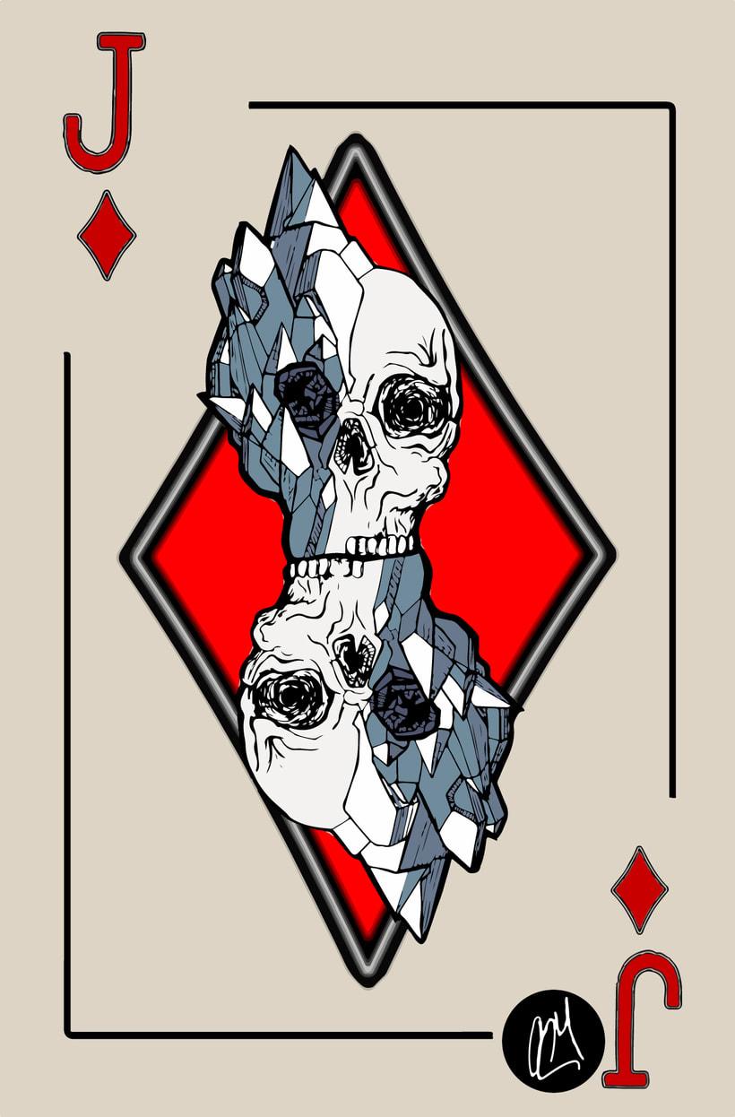 Skull Poker -1