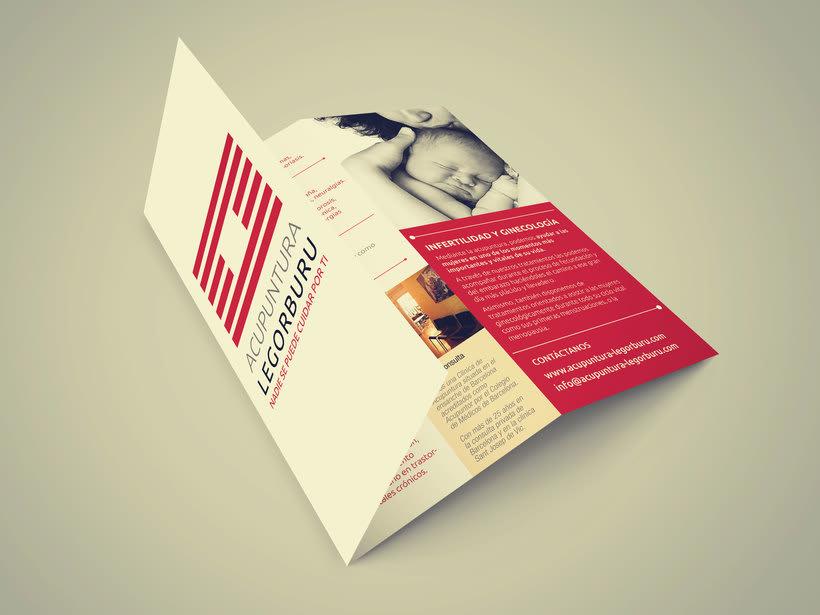 Acupuntura Legorburu - Logo & flyer 1