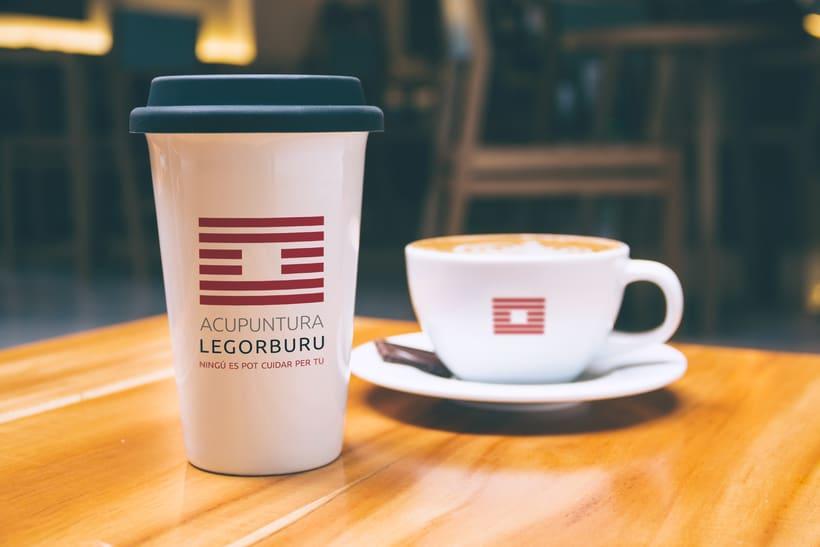 Acupuntura Legorburu - Logo & flyer 2