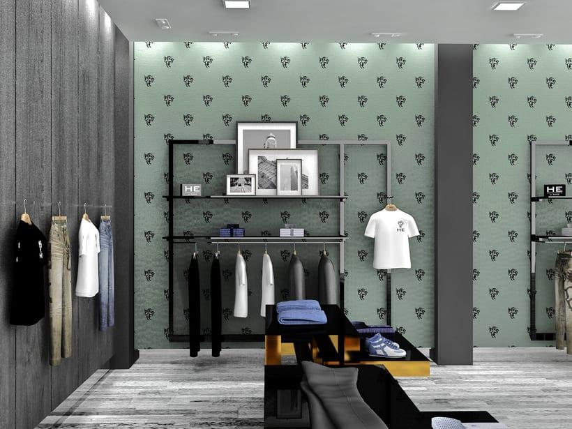 Mango HE, Milan / Diseño de Interiores 1