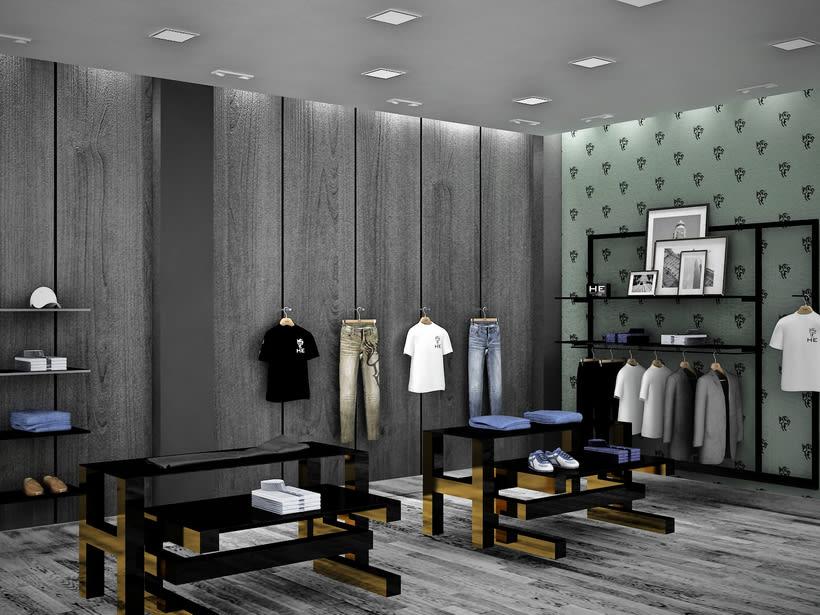 Mango HE, Milan / Diseño de Interiores 0