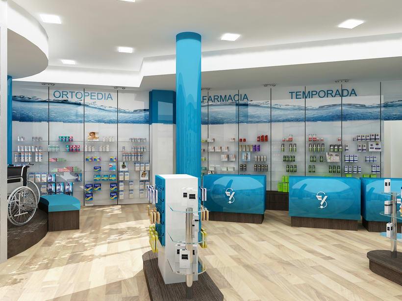 Farmacia H2O, Barcelona / Diseño de Interiores 0