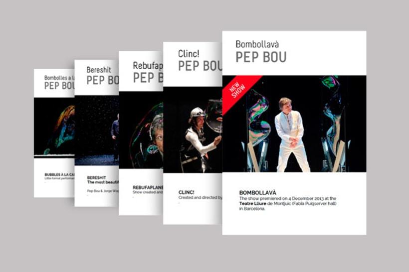 Comunicación gráfica  Pep Bou 4