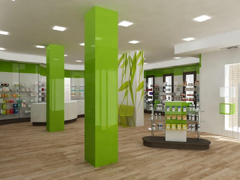 Farmacia Bambu Fuenlabrada Dise O De Interiores Domestika