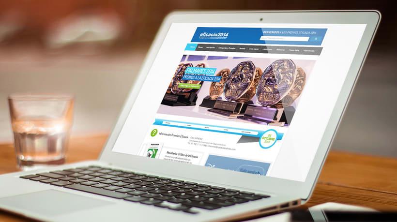 Diseño Website Premios a la Eficacia -1
