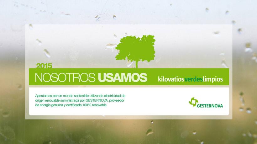 Imagen Coporativa para Gesternova (energías reonovables) 0