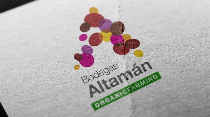 Imagen corporativa para Bodegas Altamán -1