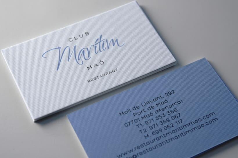 Identidad restaurante Mahón 1