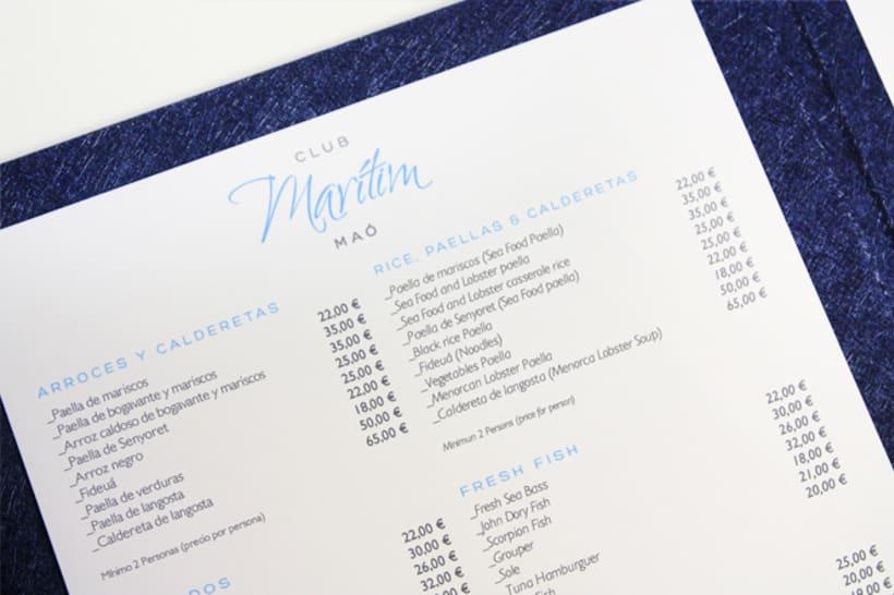 Identidad restaurante Mahón 4
