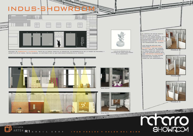 Showroom Naharro, Madrid / Diseño de Interiores 0