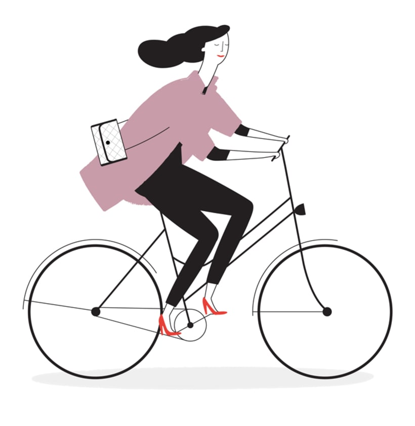 À Bicyclette -1