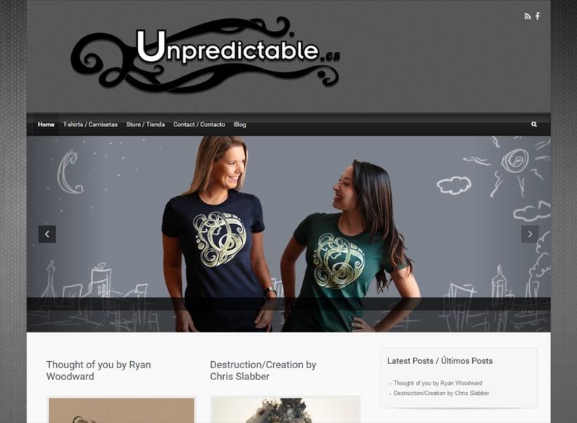 Imagen de marca y diseños Unpredictable 3