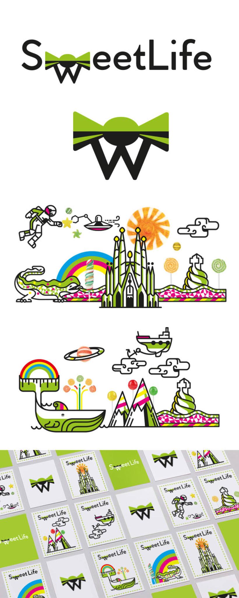Logotipo e imagen Sweet Life 2