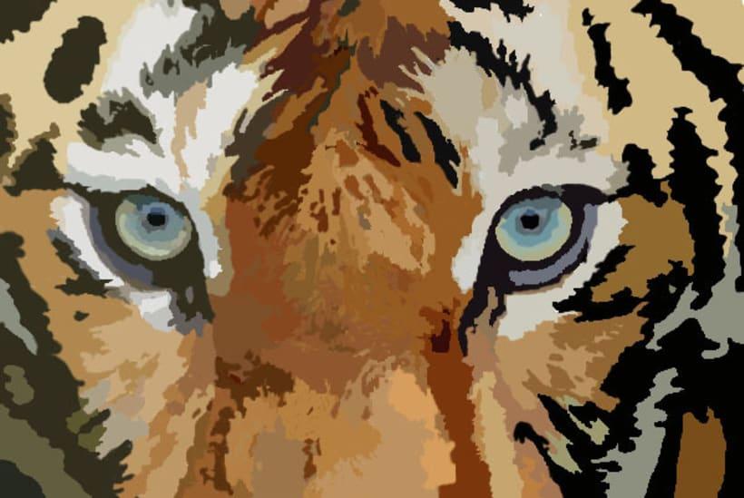 Arte digital | Tigre 4
