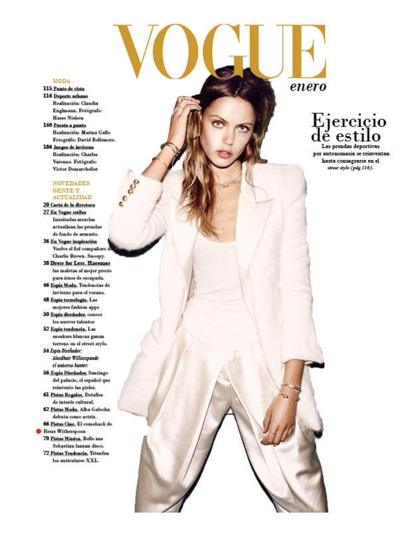 Maquetación | Vogue 1