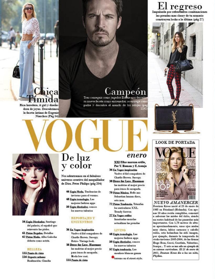 Maquetación | Vogue 2