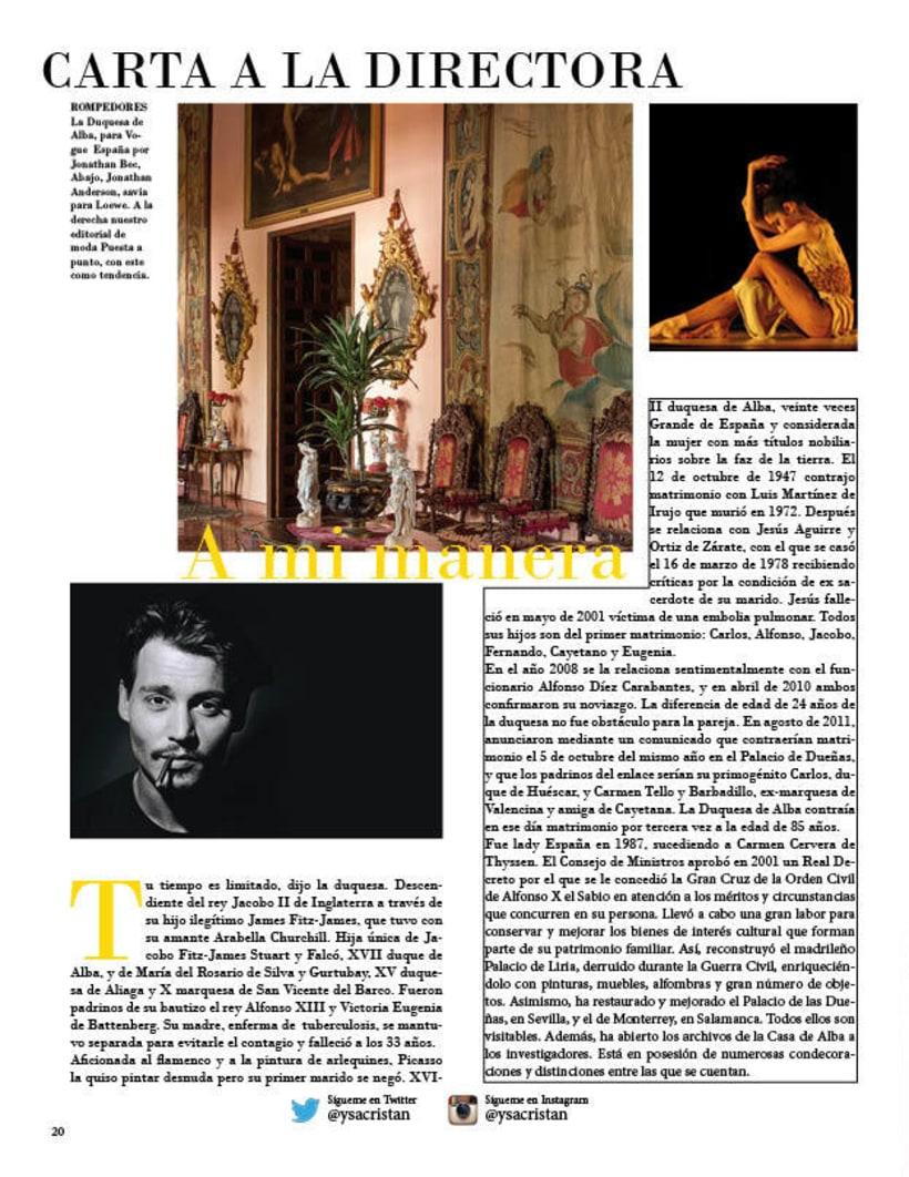 Maquetación | Vogue 3