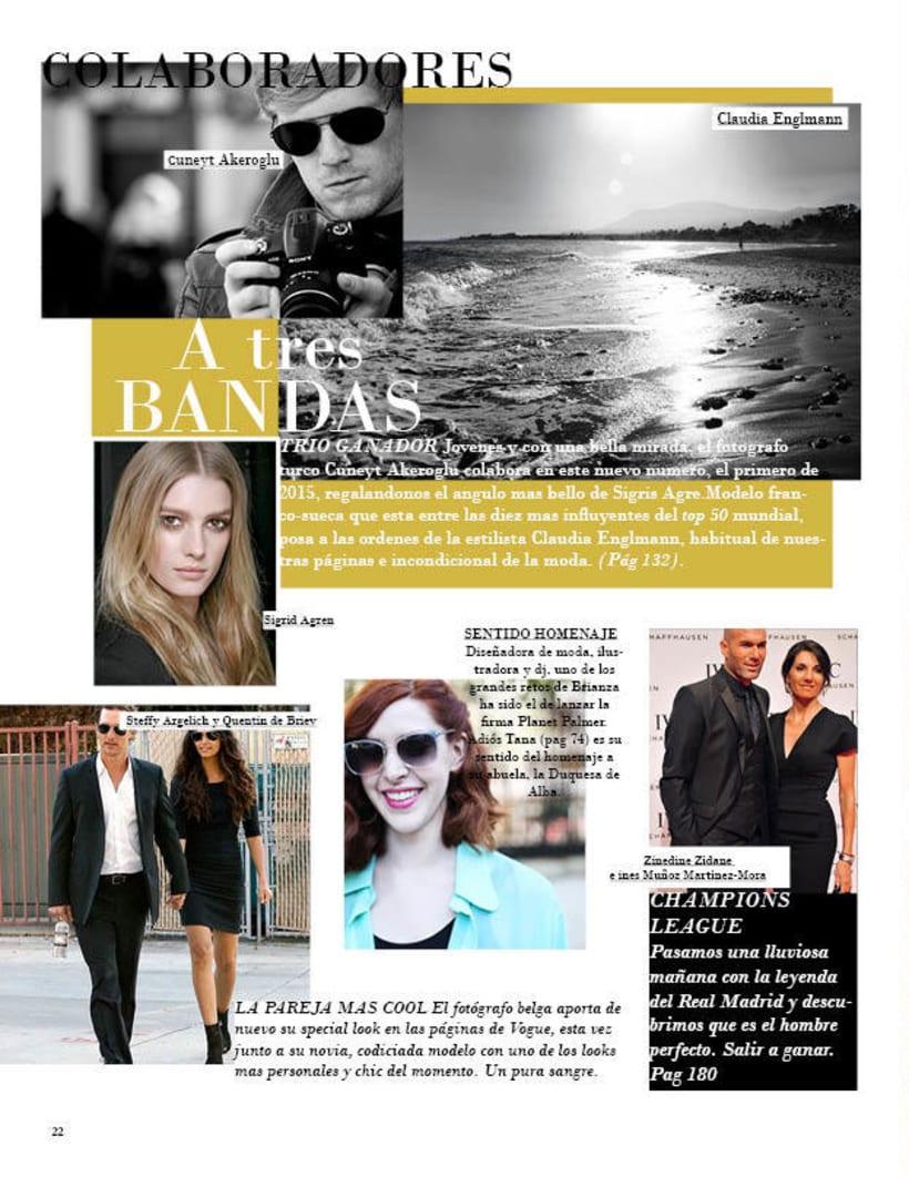 Maquetación | Vogue 4