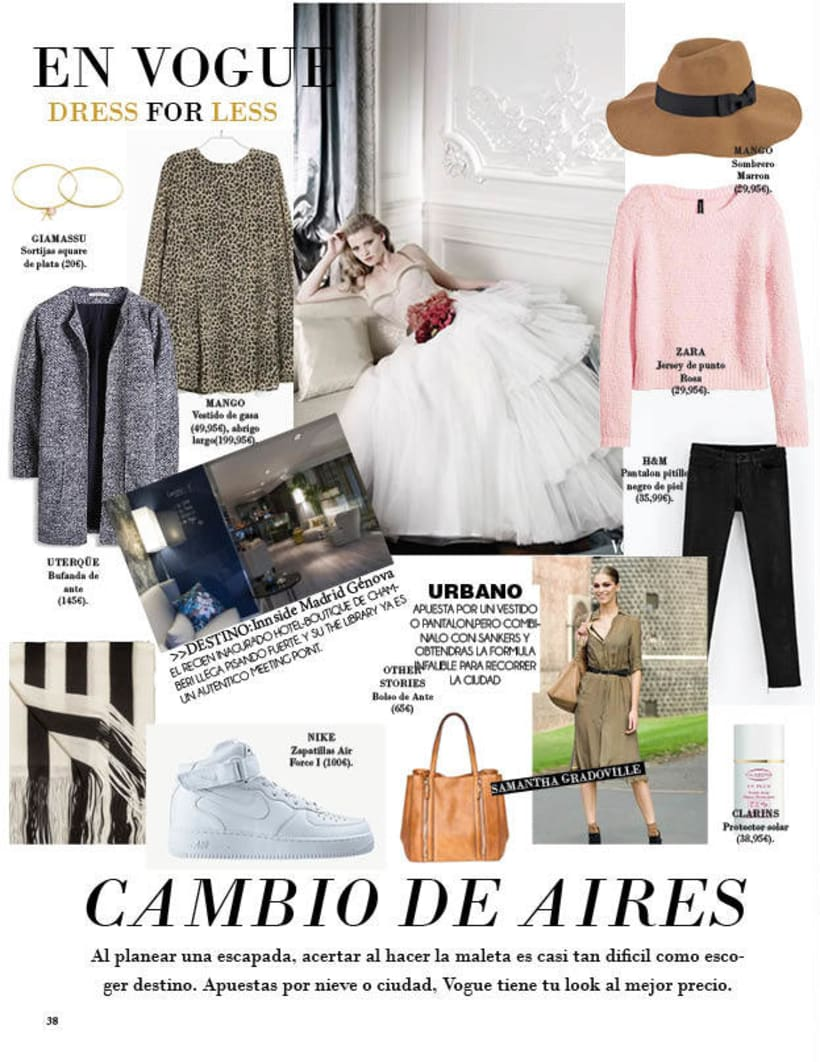 Maquetación | Vogue 7