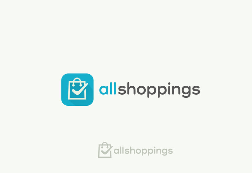 Logotipo - Allshopings App 1