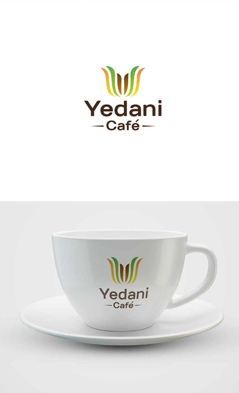 Logotipo - Yedani Café 1