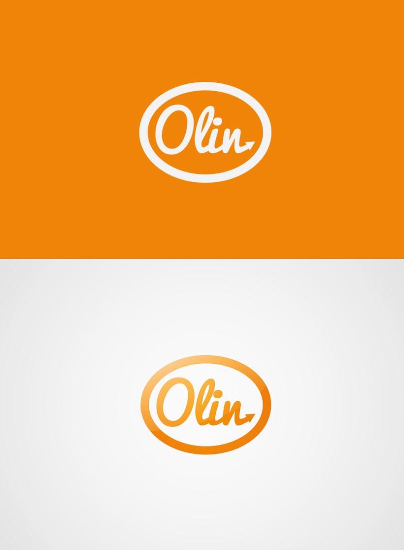 Logotipo - Olin 1