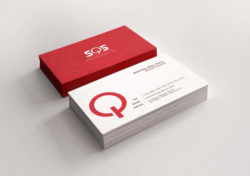 Tarjetas de presentación - SQS 1