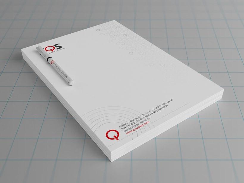 Tarjetas de presentación - SQS 2