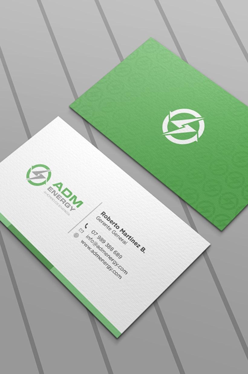 Tarjetas de presentación - ADM Energy 1