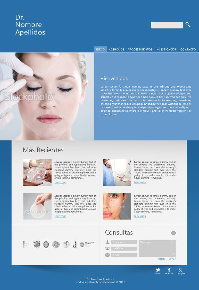 Website - Consultorio Médico 1