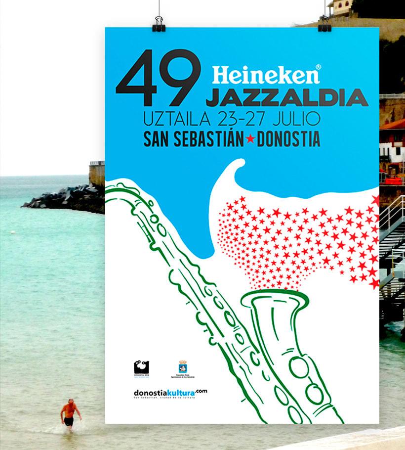 Diseño de Cartelería Jazzaldia 4