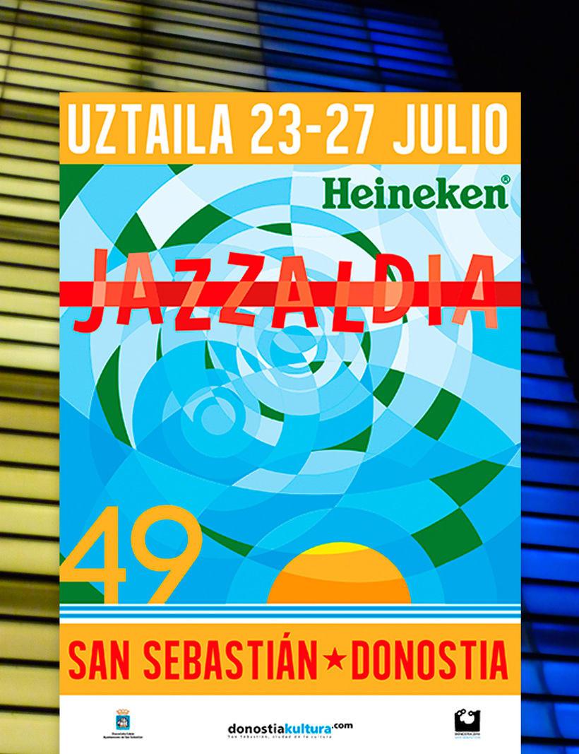 Diseño de Cartelería Jazzaldia 2