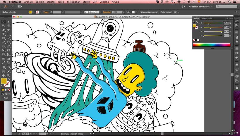 Mi Proyecto del curso Ilustración exprés con Illustrator y Photoshop aunque sin cerveza.. 3