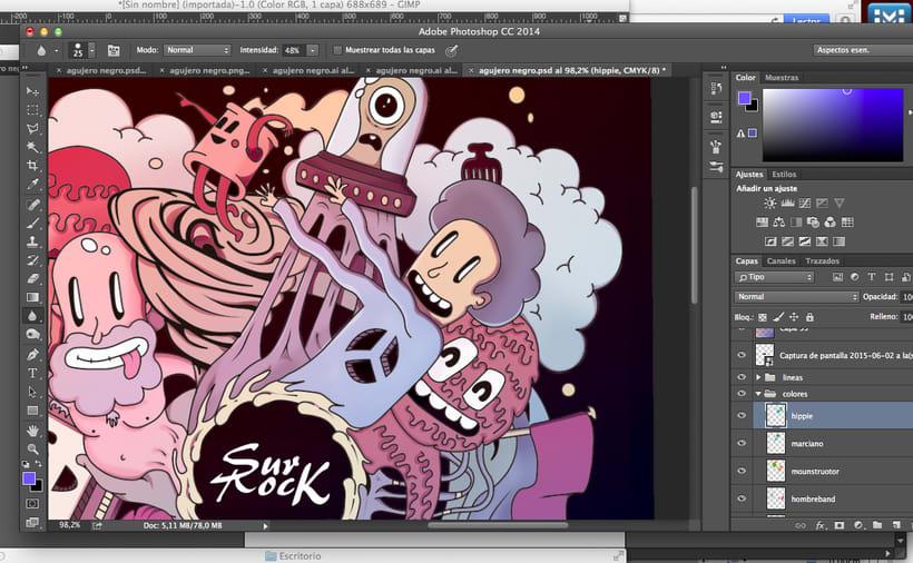 Mi Proyecto del curso Ilustración exprés con Illustrator y Photoshop aunque sin cerveza.. 4