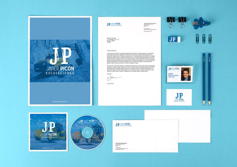 Branding completo: Javier Picón 2