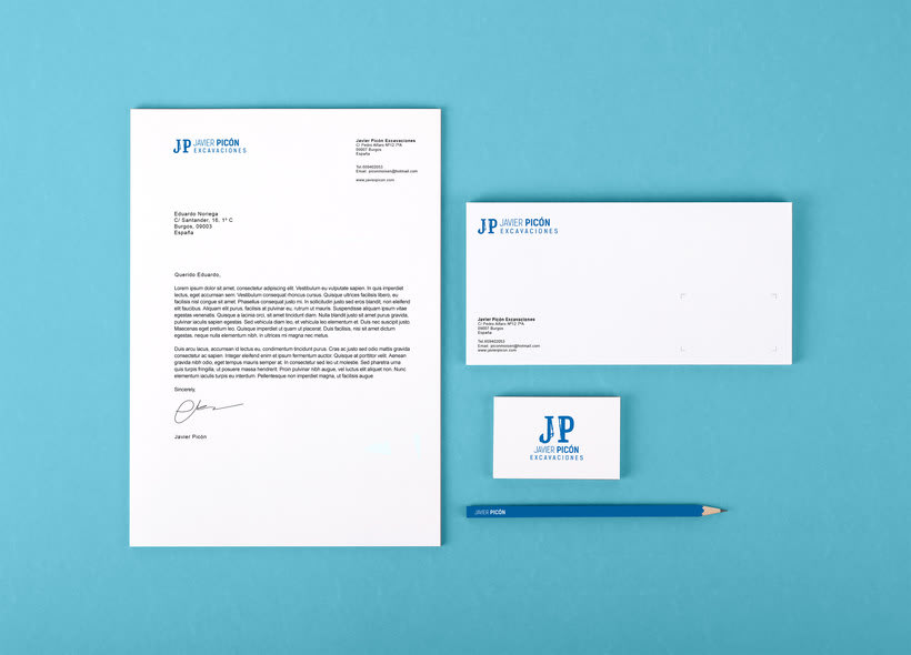 Branding completo: Javier Picón 4