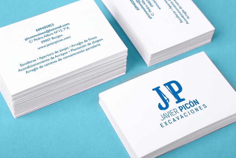 Branding completo: Javier Picón 9