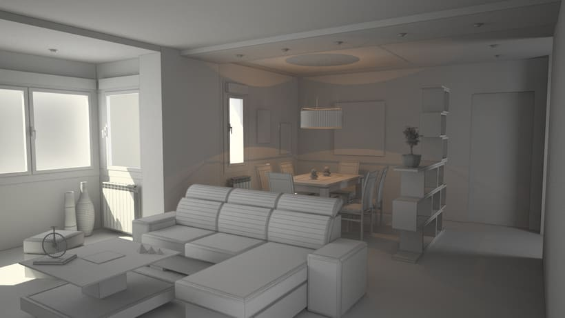3D Proyecto salón 3