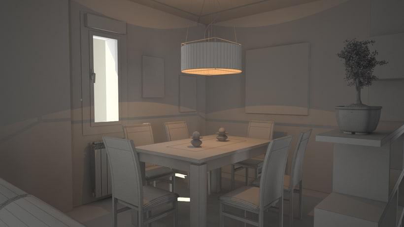 3D Proyecto salón 4