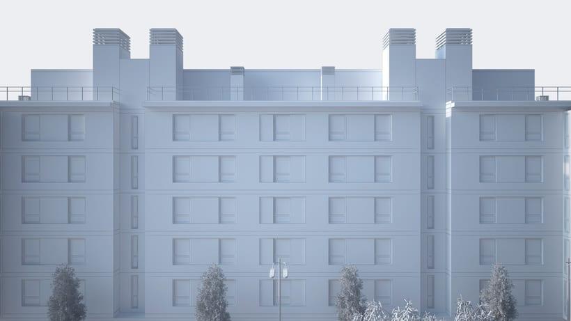 3D Edificio 001 4