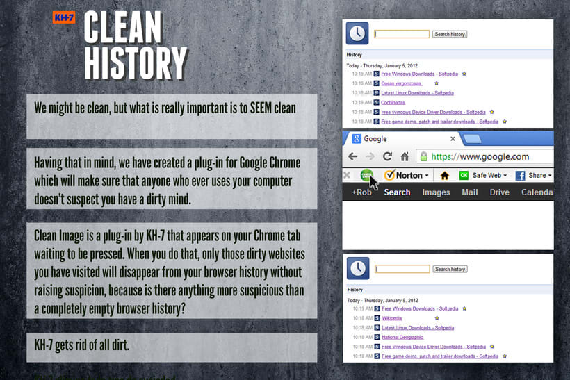 Clean History 1