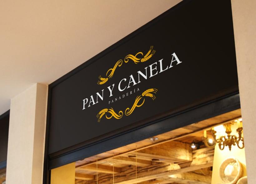 Diseño de logotipo para Pan y Canela, una panadería y pastelería ...