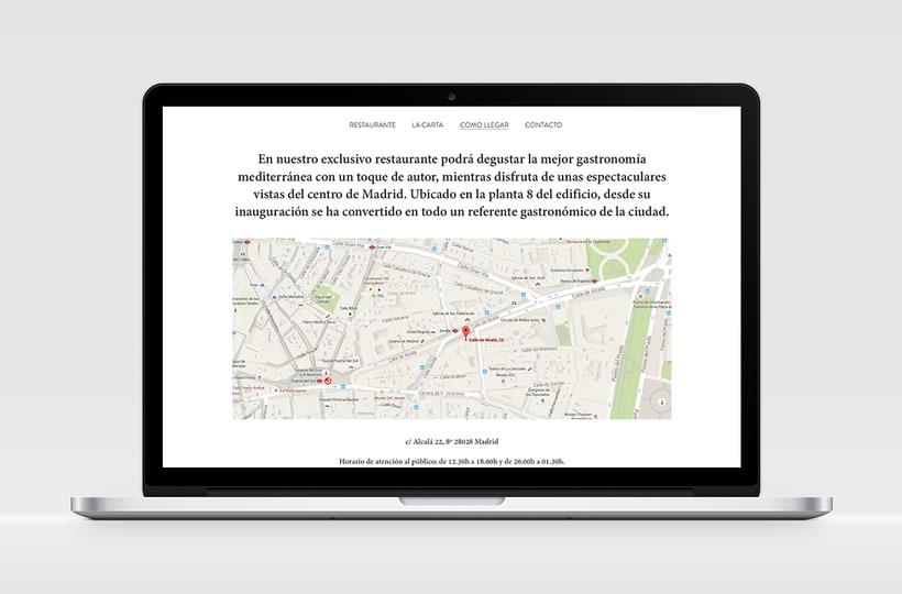 """Identidad Corporativa y website responsive """"El Carmen"""" (restaurante) 6"""